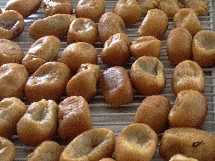 XianSuiJiao - hometown sweet savory rice dumplings, and memories of my grandfather's village (家乡咸水角)