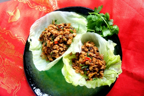 Chicken San Choy Bao