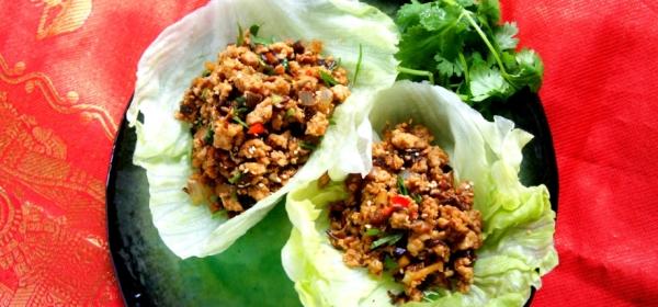 Chicken San Choy Bao