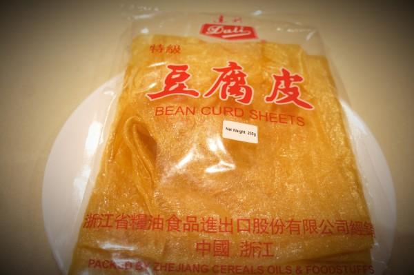 Tofu sheets/tofu skin