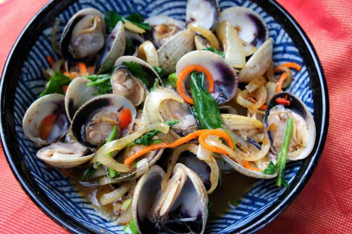 Clams XO sauce, and the story of my TaiShan 台山 uncle