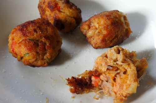 Beef, pumpkin & potato balls #fodmapfriendly #glutenfree