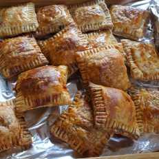 Pork puff pastry 'cha chiu su' style