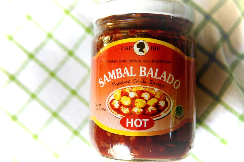 Indonesia Sambal Balado sauce for eggs