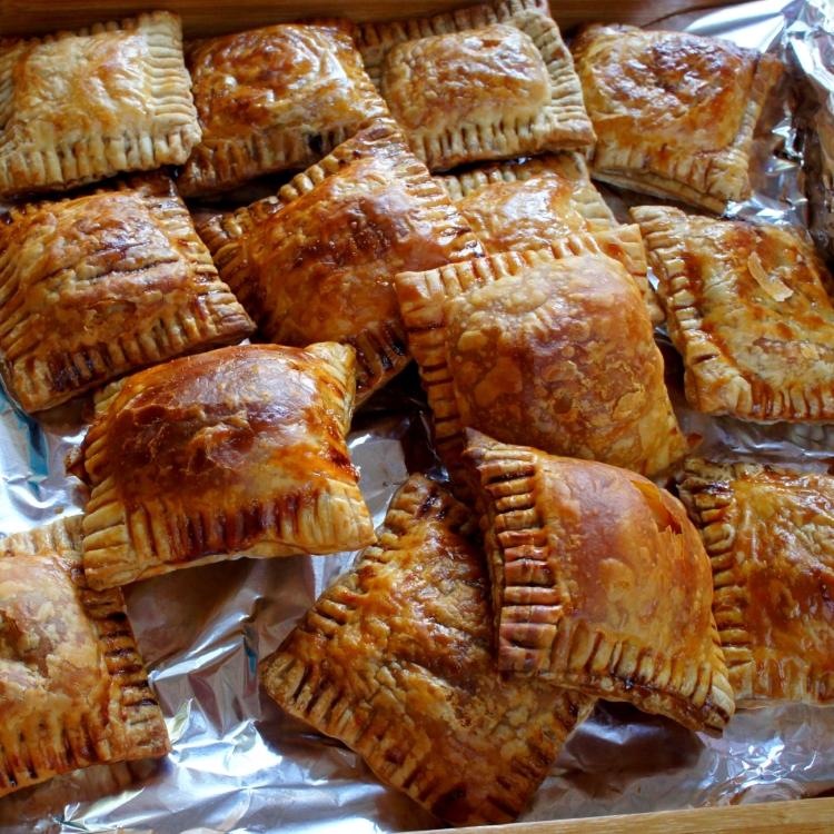 Pork and leek pastry 'cha siu su' style