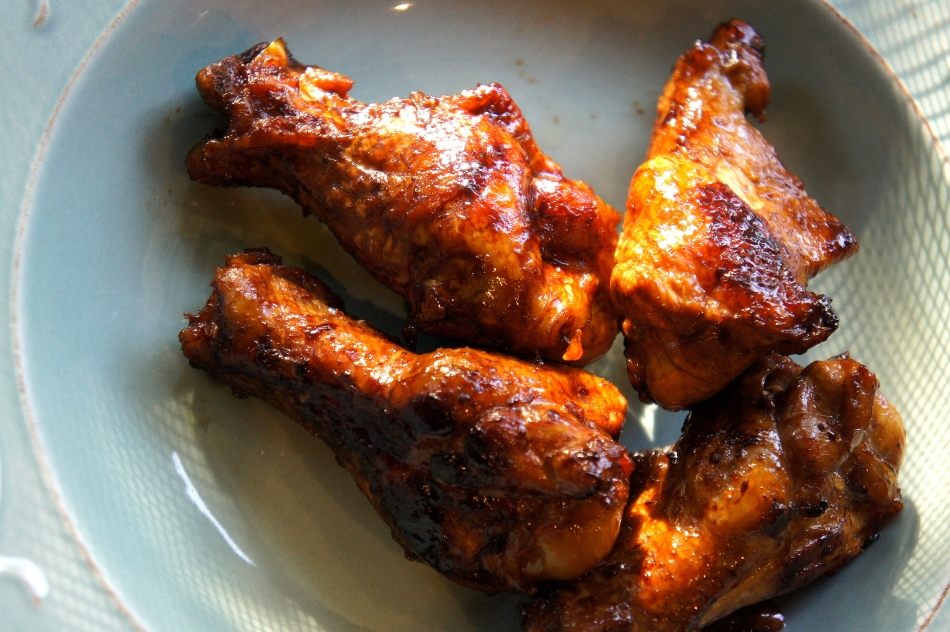 Twice cooked chicken mini drumsticks