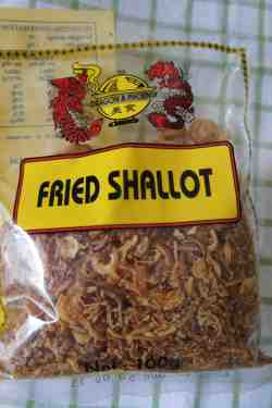 Asian fried shallot