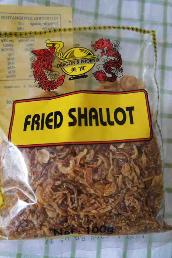 Asian fried shallot