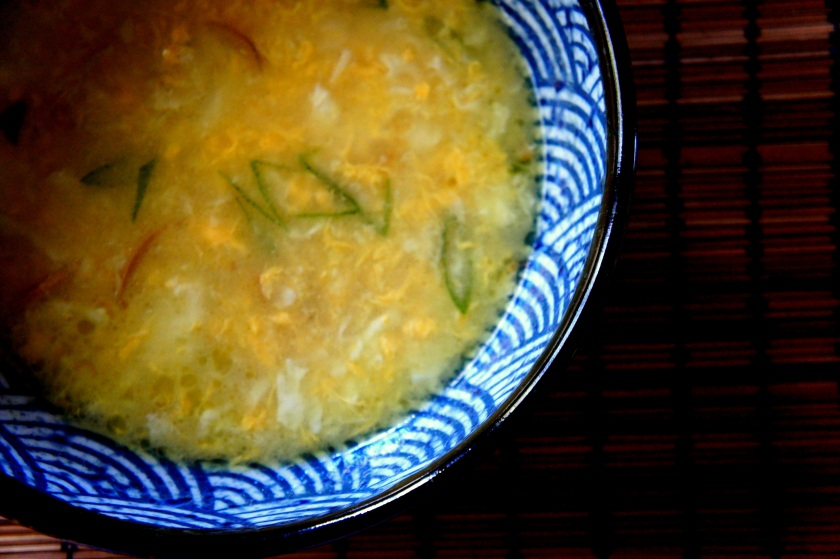 Egg and ginger soup - Grandmother's cough remedy