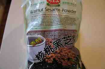 Sesame walnut powder