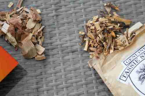 Tasmanian apple wood chips