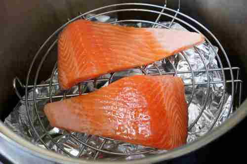 Salmon to be smoked (low FODMAP, gluten free)