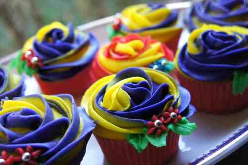 Cups cakes for election bakes 1