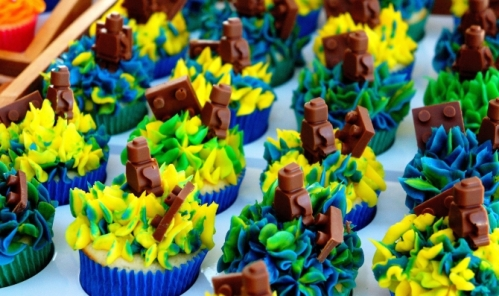 Election day bake - cup cakes