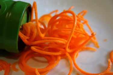 Carrot, julienne