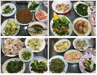 Bo's family meals