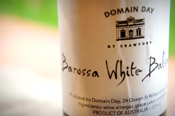 White balsamic from Barossa, South Australia