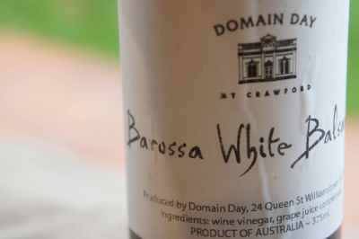 Barossa white balsamic, Domain Day, Mt Crawford, Williamstown