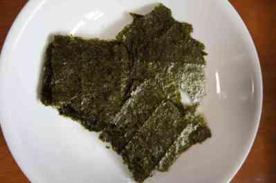 Nori (seaweed) sheet