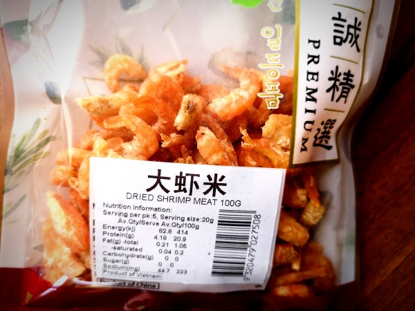 Chinese dried shrimps