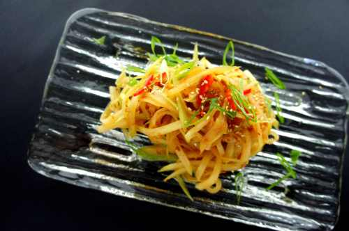 Hairy gourd with XO sauce