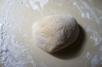 Dough - homemade wheat noodles