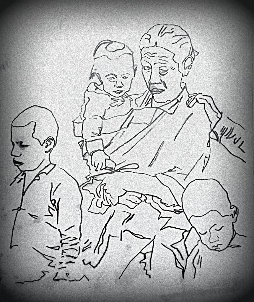 My memories of a peasant family during a famine