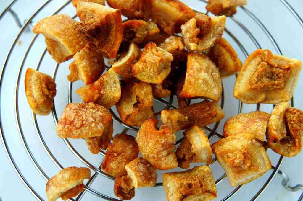 Fried pork cracklings