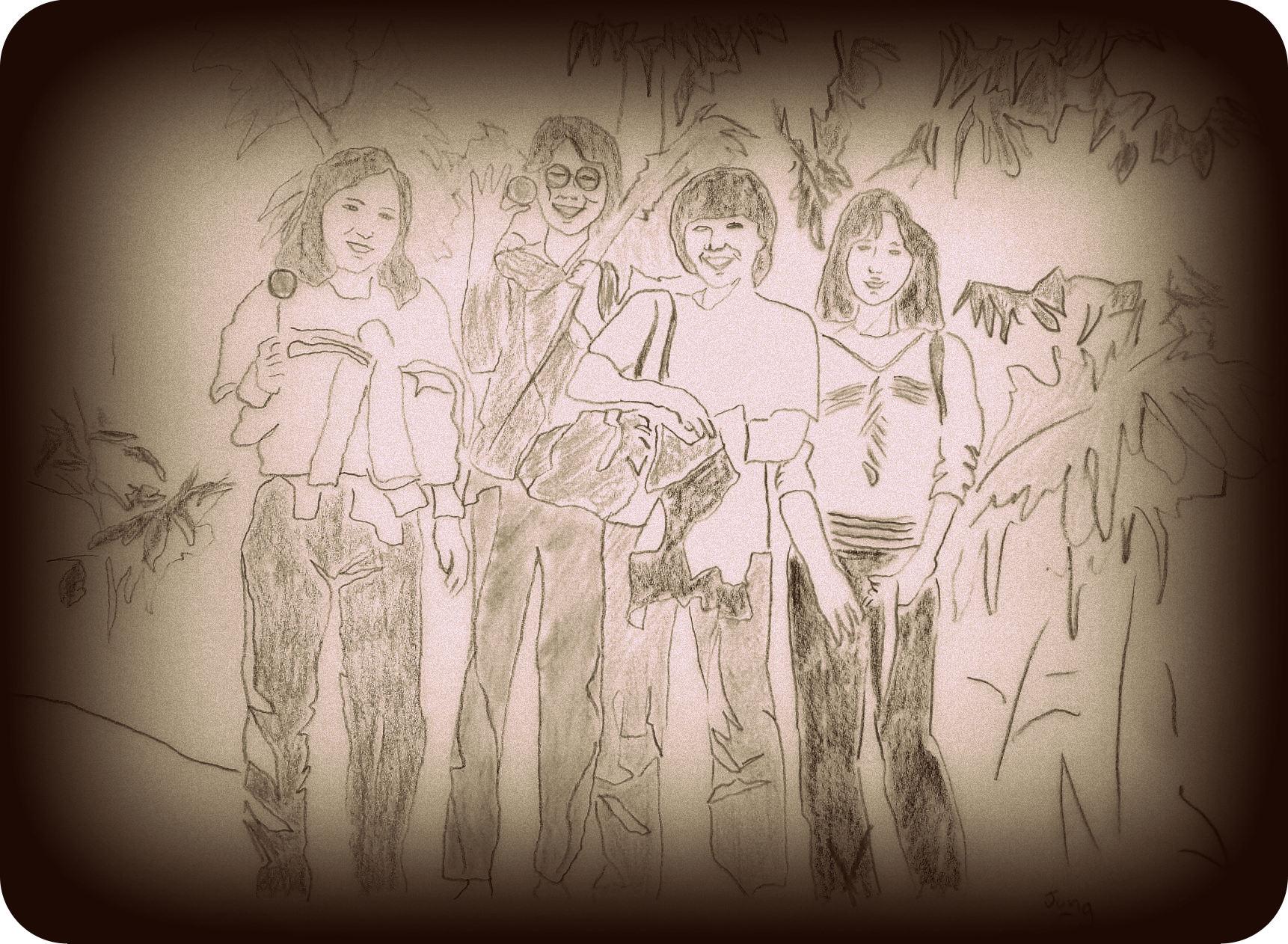 Memories of GuangDong GuangYa Middle School - Friends