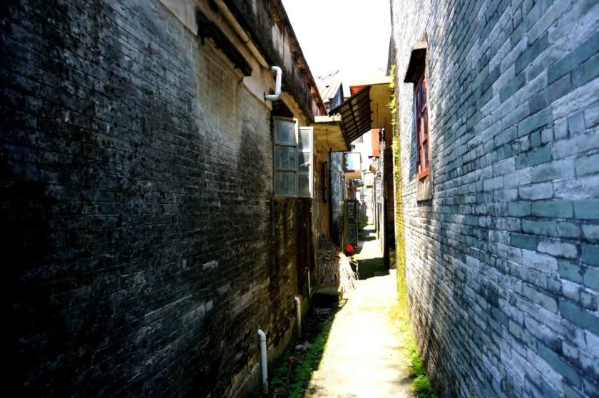 A village at Taishan, Guangdong China