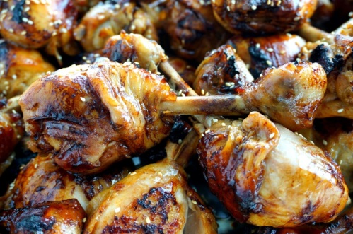 Simple roasted chicken drumsticks (FODMAP friendly)