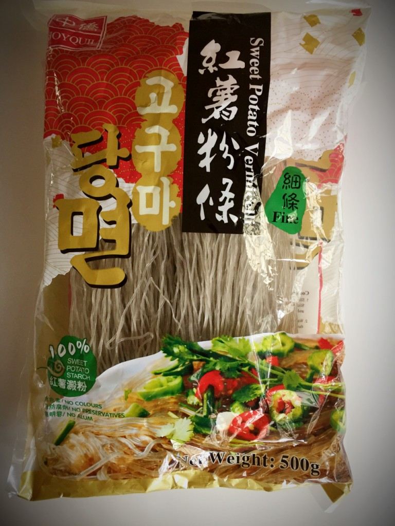 Sweet potato noodles
