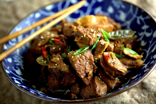 Beef flank stew