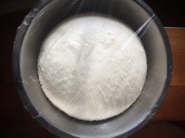 Chinese steamed bun dough