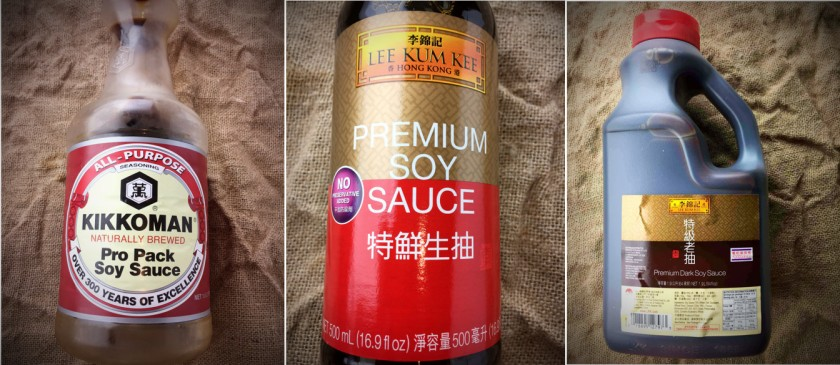 My favourite soy sauces